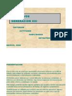 DIRECTIVOS GENERACION  XXI
