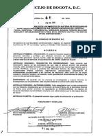 Acuerdo 462 de 2011 - Capacitadores en Bioseguridad