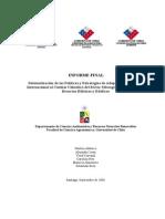 Sistematización de Las Polìticas y Estrategias de Adaptación Nacional