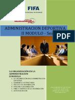 Administracion Deportiva - Modulo II - Semana 1