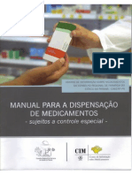 Manual Para a Dispensação de Medicamentos Do Crf