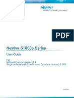 Nextiva S1800e Series User Guide
