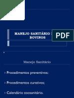 Calendário Saniário - IFBaiano2013