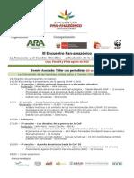 Programación III Encuentro Pan-Amazónico