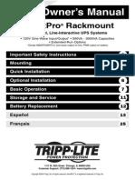 Manual SmartProRackmount UPS 932406