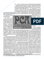 1994 Issue 8 - The PCA's Proposed Statement of Identity