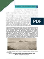 Cambio climatico y desastres naturales