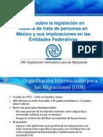 Taller Sobre La Legislación en Materia de Trata
