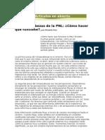 Autoayuda - PNL - Ricardo Ros El Rompecabezas de La PNL - Cómo Hacer Que Funcione