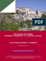 Acoso Moral Laboral o Mobbing (Enrique Gasco-García)