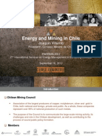 Energy and Mining in Chile Enermin2012