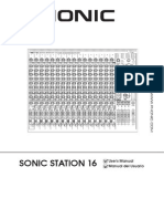 Manual Sonic Phonic Station 16