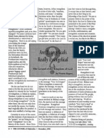 1994 Issue 9 - Are Evangelicals Really Evangelical? The Gospel of the Kingdom of God - Counsel of Chalcedon