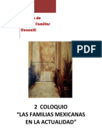 Familias Mex en La Actualidad-memoriascoloquio