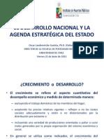 El Desarrollo Nacional y La Agenda Estratégica Del Estado 21.06.13