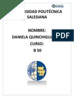 Daniela Quinchiguango Mate