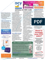 Pharmacy Daily for Wed 06 Aug 2014 - Pharmacy on MA Code, Falling med exports, BMJ okay on statins, Health, Beauty and New Products and much more