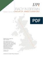Democracy-In-britain Cornford Feb2014 11772