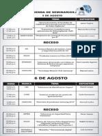 Agenda Seminarios Expo2014
