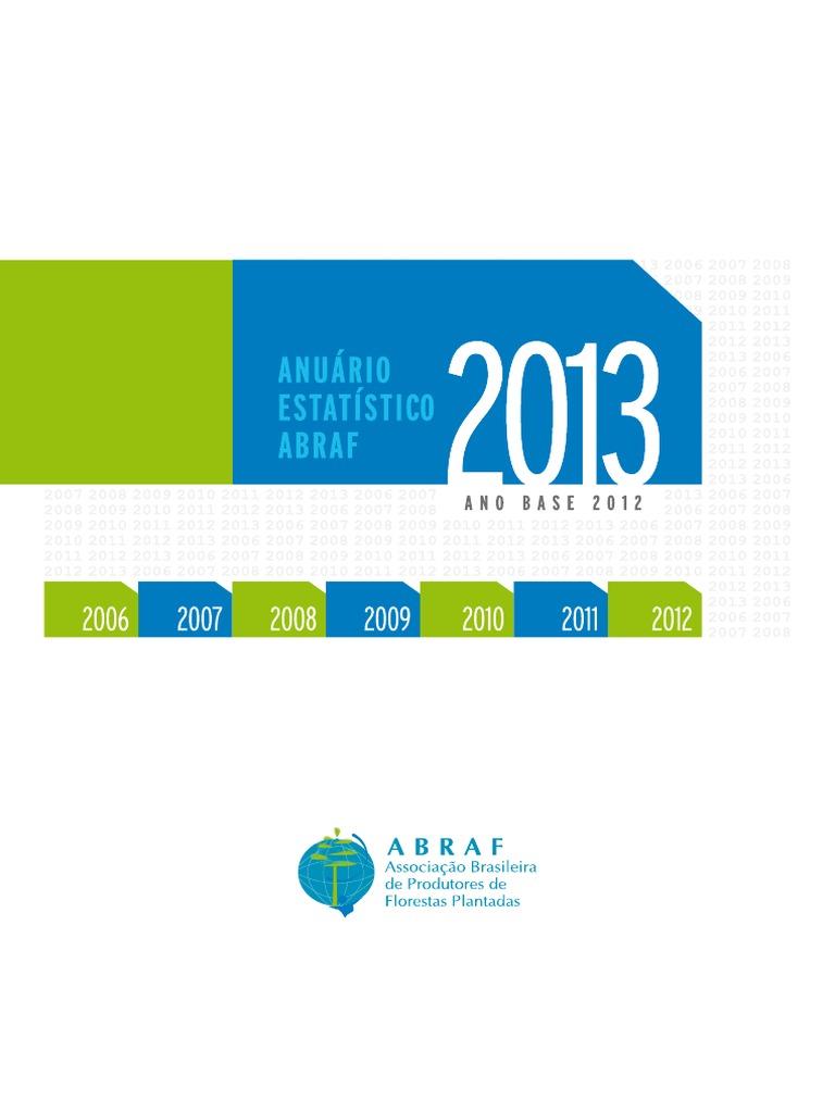 Resultado de imagem para nuário estatístico da Abraf 2013