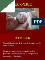 Control Puerperio