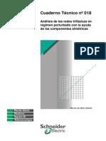 Analisis de Las Redes Trifasicas en Regimen Perturbado Con Ayuda de Componentessimetricos