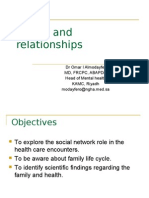 10th lecture  Family and relationships
