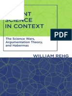 [William_Rehg]_Science Wars, Argumentation Theory and Habermas