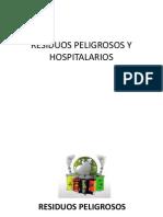 Residuos Peligrosos y Hospitalarios