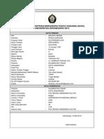 Print Out Formulir