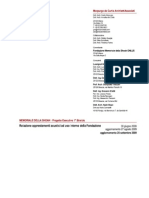 GAC - Relazione Componenti Acustici per Fondazione