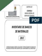 Inventario de Bancos Veracruz SCT
