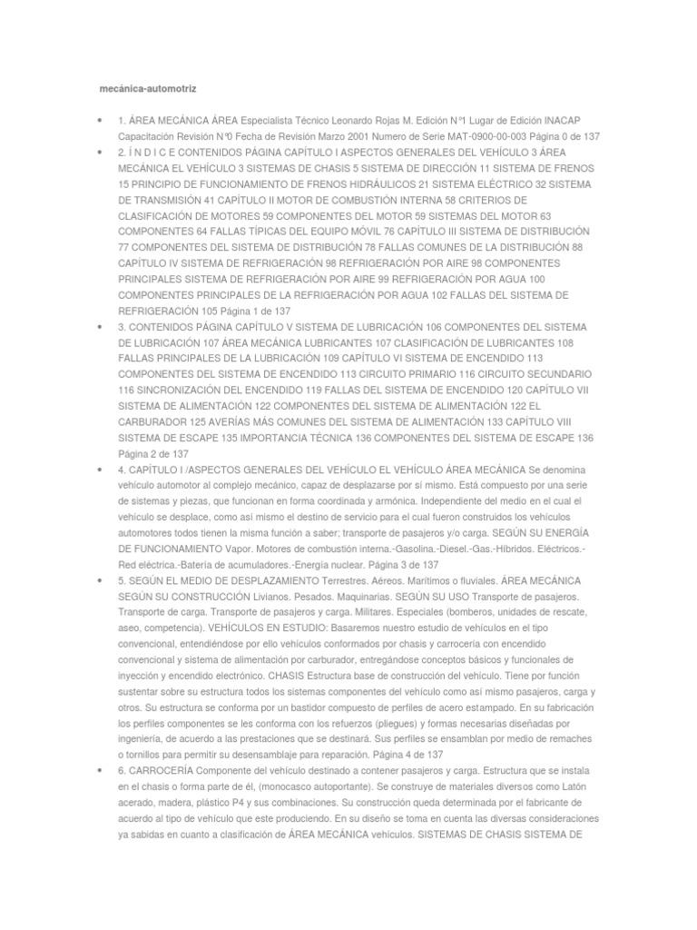 Mecanica Automotriz Manual