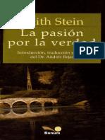 Edith Stein La Pasion Por La Verdad