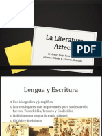 La Literatura Azteca