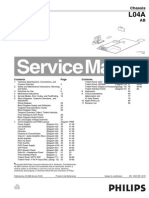 Philips Tv Ch l04a Ab Service Manual