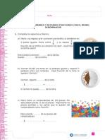 Fracciones Sumas y Restas