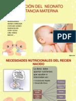 Nutrición Del Neonato
