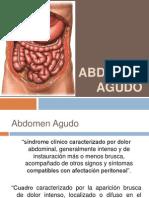 Abdomen Agudo Qx en Pediatria