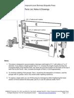 Micro Compound Lever Biomass Briquette Press