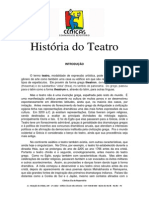 Apostila - História Do Teatro 01