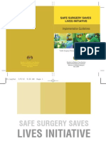 Guidelines Safe Surgery