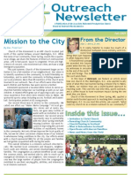 Outreach Newsletter Fall 2009