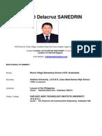 Cv-Orlando Delacruz Sanedrin, Word Format