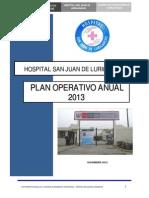 PLAN 13764 Plan Operativo Institucional 2013 2013