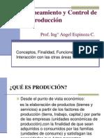 1ra Semana.planeamiento y Control de La Produccion Finalidad Funciones Interaccionppt