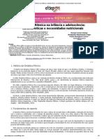Ginástica Rítmica Na Infância e Adolescência_ Características e Necessidades Nutricionais