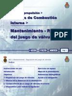 MOTORES DE COMBUSTIÓN INTERNA 17 MANTENIMIENTO - REGULACION