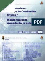 MOTORES DE COMBUSTIÓN INTERNA 19 MANTENIMIENTO - ARMADO DE L