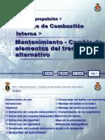 MOTORES DE COMBUSTIÓN INTERNA 20 MANTENIMIENTO - CAMBIO DE E